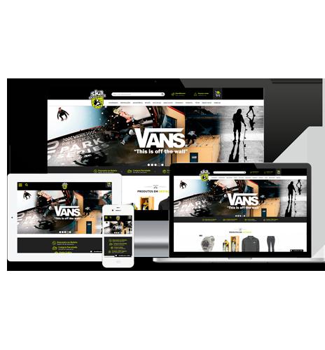 Acesse e conheça a Loja Virtual da Ska Skate Rock